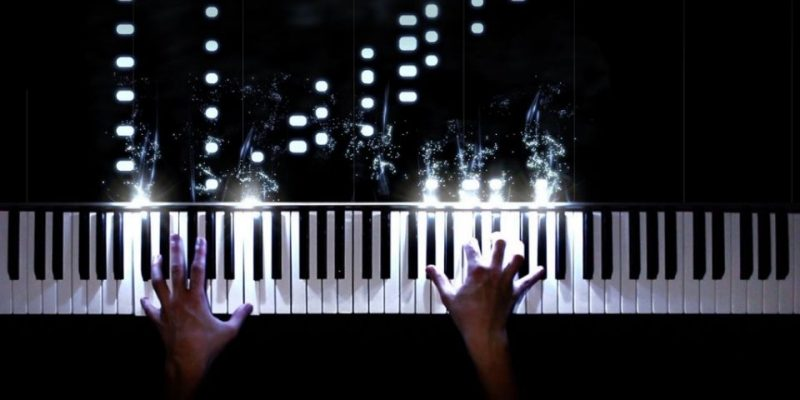 How to Create Piano Visualization Videos with Particles